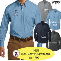FANIN COUNTY - MEN'S Carefree Shirt  - FREE SHIP