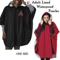 ALLATOONA SOCCER Adult Sized Jersey Lined Poncho