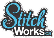Stitchworks custom apparel logo