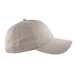 Khaki Peached Cotton Twill Cap