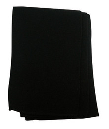 Black Fine Gauge Scarf