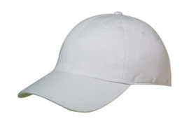 White - CT6320 Chino Twill Cap | Toque.ca