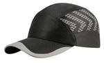 Black Reflective Runner's Cap