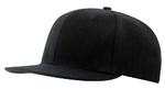 Black Wool Serge UR' Bond™ Fitted Cap
