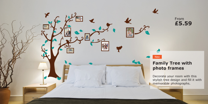 Charmant Wall Stickers And Decals, Wall Art Stickers   Stickers Wall