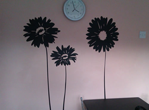 Gerbera Flower Wall Sticker