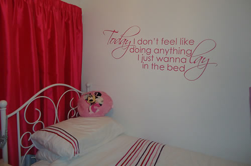 Wall quotes sticker