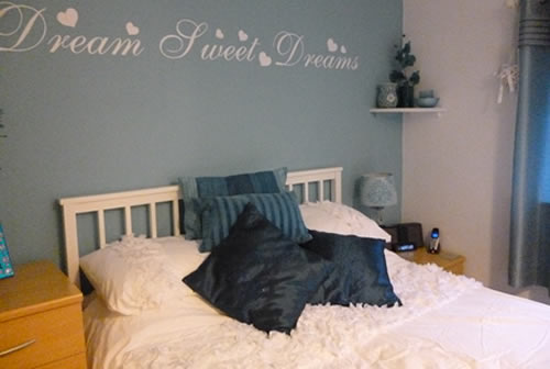 dreams sweet dreams wall sticker