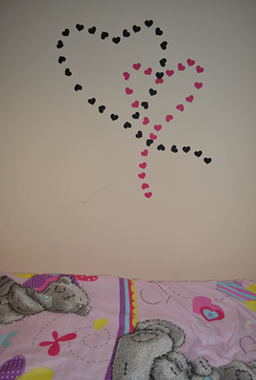 Hearts Wall Sticker