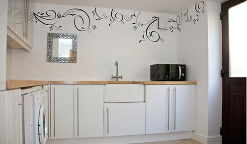 oat vine wall sticker
