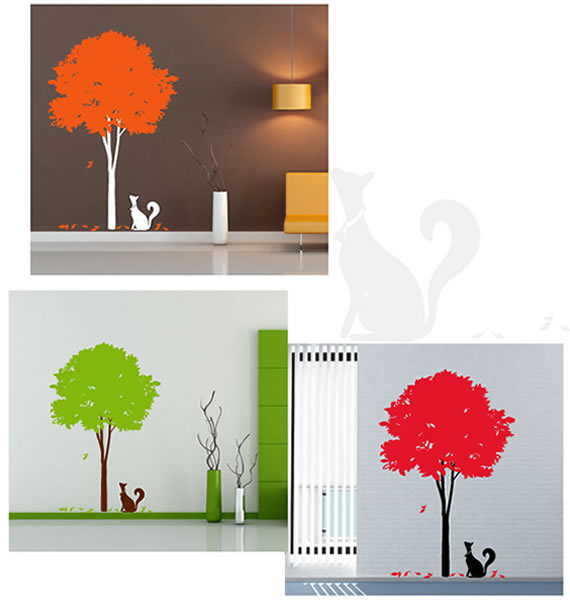 Stylish Tree Wall Sticker