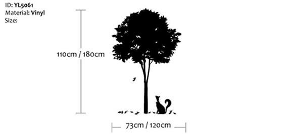 Stylish Tree Wall Sticker