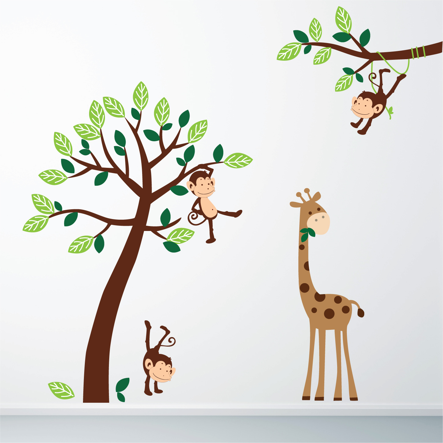 Stickers Chambre Bebe Garcon Jungle – Chaios
