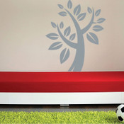 Tree and Leaves Wall Sticker 5027