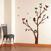 Tree & Birds Wall Sticker 5043