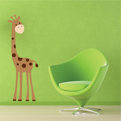 Giraffe wall sticker