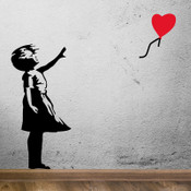 Banksy art Balloon Girl