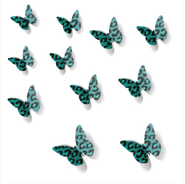 3d butterfly wall stickers / wall decors