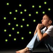 glow in the dark star wall stickers