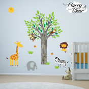 harry & bear wall stickers