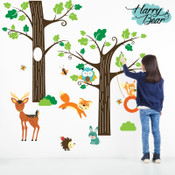 woodland wall stickers