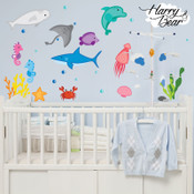 Undersea World Wall Stickers 1009