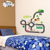 Road Map wall stickers