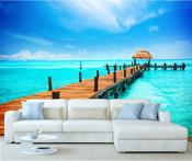 Maldives Paradise Island Wall Mural