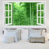 Bamboo Forest 3D Wall Sticker 5301-1015