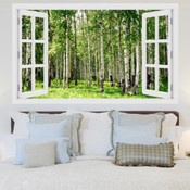 Birch Tree Forest 3D Wall Sticker 5301-1012