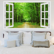Forest Pathway 3D Wall Sticker 5301-1014