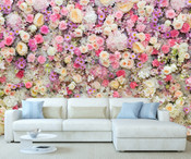 Colourful Flowers Wall Mural