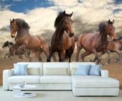 Wild Horses Wall Mural