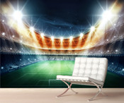 Football Stadium Light Wall Mural