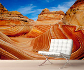 Grand Canyon Blue Sky Wall Mural