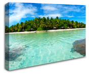 Beach Island Resort Wall Art Canvas 8998-1003