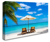 Bahama Beach Wall Art Canvas 8998-1006