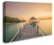 Sunset Beach Wall Art Canvas 8998-1008