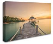 Sunset Beach Wall Art Canvas 8998-1008