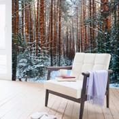 Winter Tree Wall Mural