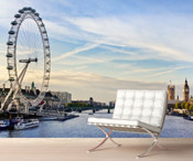 London Eye Wall Mural