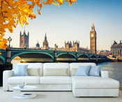London Parliament of Westminster Wall Mural 2