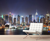 New York City Day View Wall Mural 8999-1047