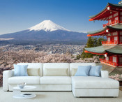 Japan Fuji Mountain Wall Mural 8999-1058