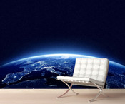 Space Planet Earth Wall Mural 8999-1072