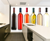 Bottles of Wine Wall Mural 8999-1125