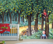 Kids Forest Wall Mural 8999-1129