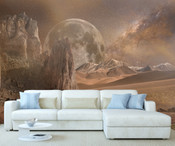 Space Planet Wall Mural 8999-1140