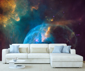 Space Galaxy Stars Wall Mural 8999-1141