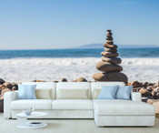 Beach Pebbles Wall Mural 8999-1144